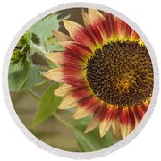 Sunflower Round Beach Towel