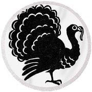 Symbol: Thanksgiving Round Beach Towel