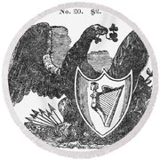 Symbols: Eagle Round Beach Towel
