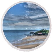 Tenby Pembrokeshire Round Beach Towel