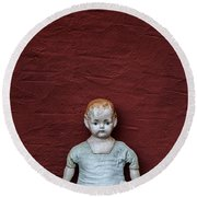 The Doll Round Beach Towel