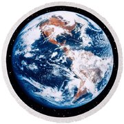 The Earth Round Beach Towel by Stocktrek Images