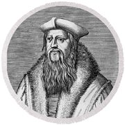 Thomas Cranmer (1489-1556) Round Beach Towel