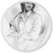 Thomas Gray (1716-1771) Round Beach Towel