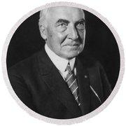 Warren Harding (1865-1923) Round Beach Towel