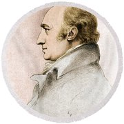 William Hyde Wollaston, English Chemist Round Beach Towel