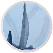 Windquest Round Beach Towel