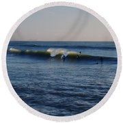 Surfers Make The Ocean Better Series Round Beach Towel