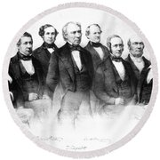 Zachary Taylor (1784-1850) Round Beach Towel