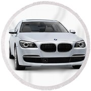 2010 Bmw 760li Individual Luxury Sedan Round Beach Towel