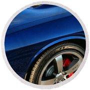 2011 Dodge Challenger 392 Hemi Srt8  Round Beach Towel