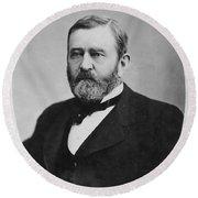 Ulysses S. Grant (1822-1885) Round Beach Towel