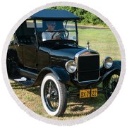 27 Ford Round Beach Towel