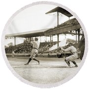 George H. Ruth (1895-1948) Round Beach Towel