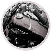 3 - Harley Davidson Series Round Beach Towel