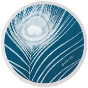 Balance Round Beach Towel