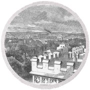 Baton Rouge, 1862 Round Beach Towel