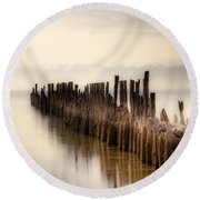 Breakwater Round Beach Towel