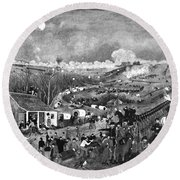 Civil War: Fredericksburg Round Beach Towel