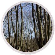 Epping Forest Round Beach Towel