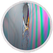 Flow Testing Air Foil Round Beach Towel