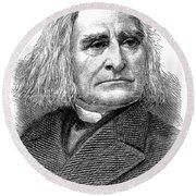 Franz Liszt (1811-1886) Round Beach Towel