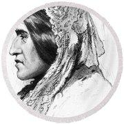 George Eliot (1819-1880) Round Beach Towel