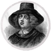 George Fox (1624-1691) Round Beach Towel