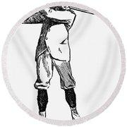 Golf, 1891 Round Beach Towel