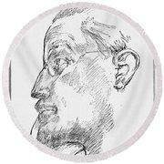 James Joyce (1882-1941) Round Beach Towel