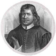 John Bunyan (1628-1688) Round Beach Towel
