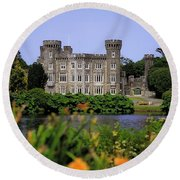 Johnstown Castle, Co Wexford, Ireland Round Beach Towel
