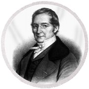 Joseph Gay-lussac, French Chemist Round Beach Towel