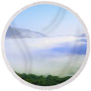 Ladies View, Killarney, Co Kerry Round Beach Towel