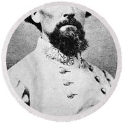 Nathan Bedford Forrest Round Beach Towel