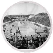 Olympic Games, 1896 Round Beach Towel
