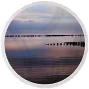 Sylt Round Beach Towel by Joana Kruse