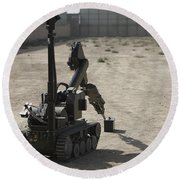 The Teodor Heavy-duty Bomb Disposal Round Beach Towel