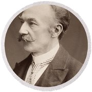 Thomas Hardy (1840-1928) Round Beach Towel