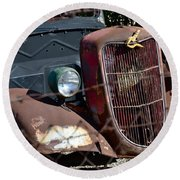 '36 Ford II Round Beach Towel