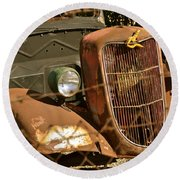 '36 Ford IIi Round Beach Towel