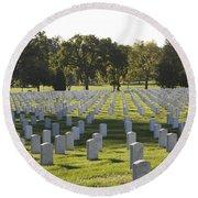 Arlington National Cemetery, Arlington Round Beach Towel