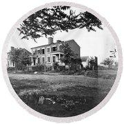 Civil War: Fredericksburg Round Beach Towel