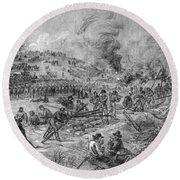Civil War: Petersburg Round Beach Towel