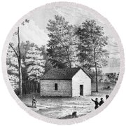 Civil War: Shiloh, 1862 Round Beach Towel