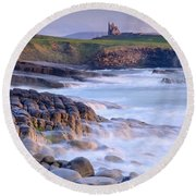 Classiebawn Castle, Mullaghmore, Co Round Beach Towel