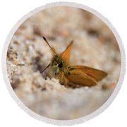 European Skipper Round Beach Towel