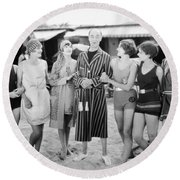 Film Still: Beach Round Beach Towel