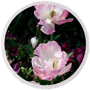 Giverney Round Beach Towel