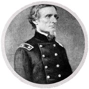 Jefferson Davis (1808-1889) Round Beach Towel